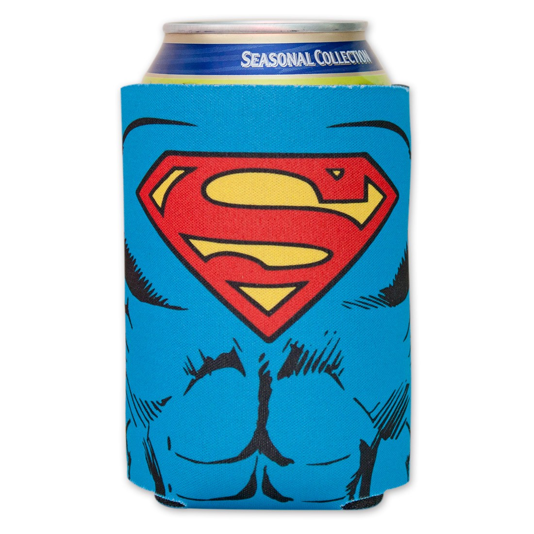 Superman Character Costume Can Cooler