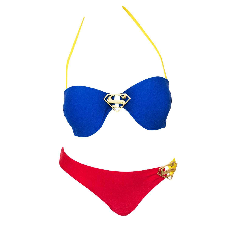 Superman Ring Bandeau Bikini