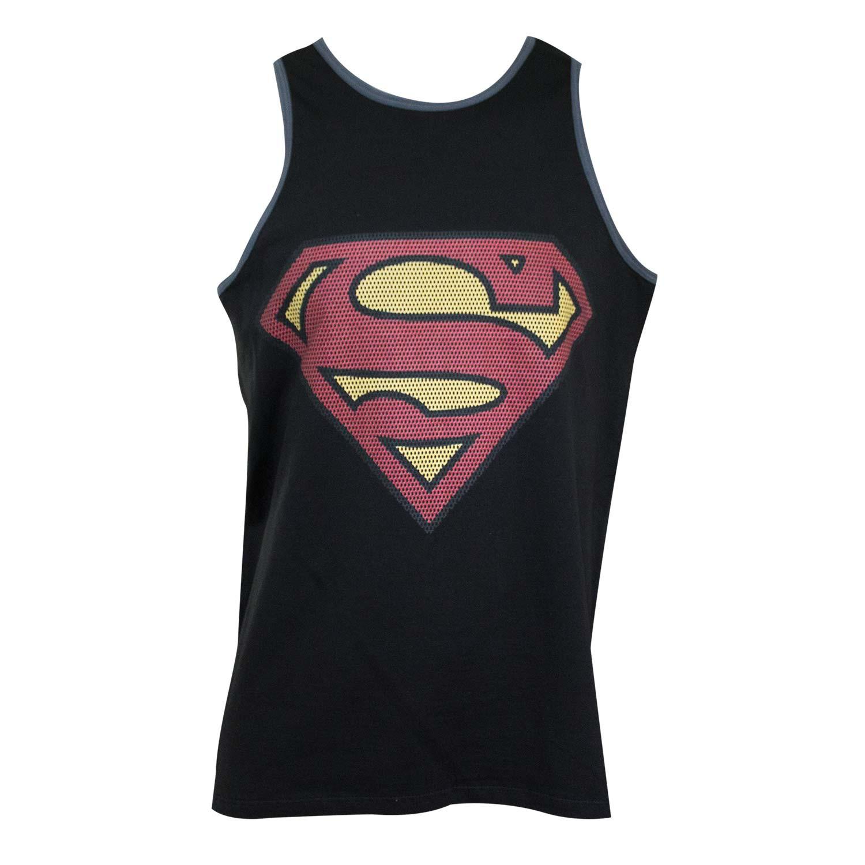 Superman Black Tank Top