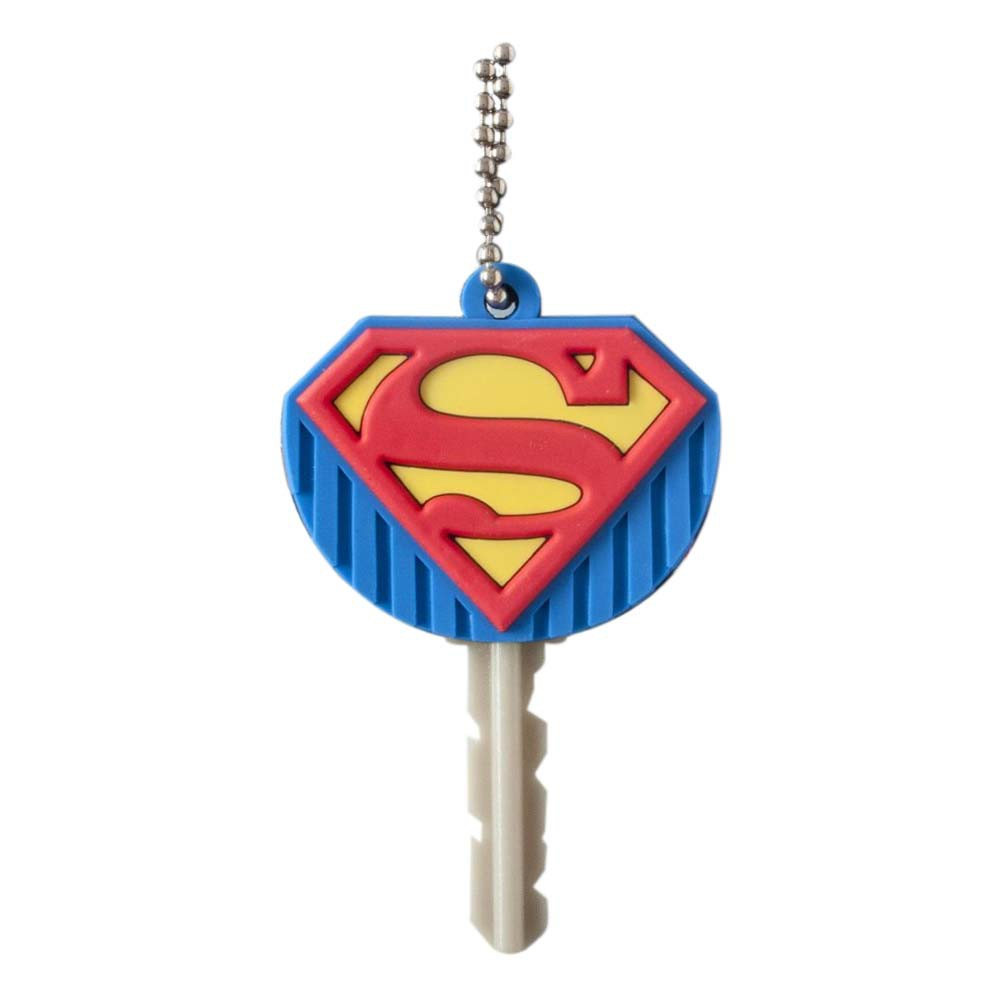 Superman Rubber Logo Key Holder
