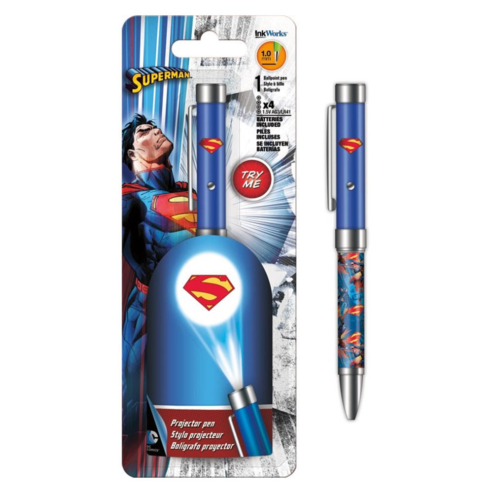 Superman Projector Pen