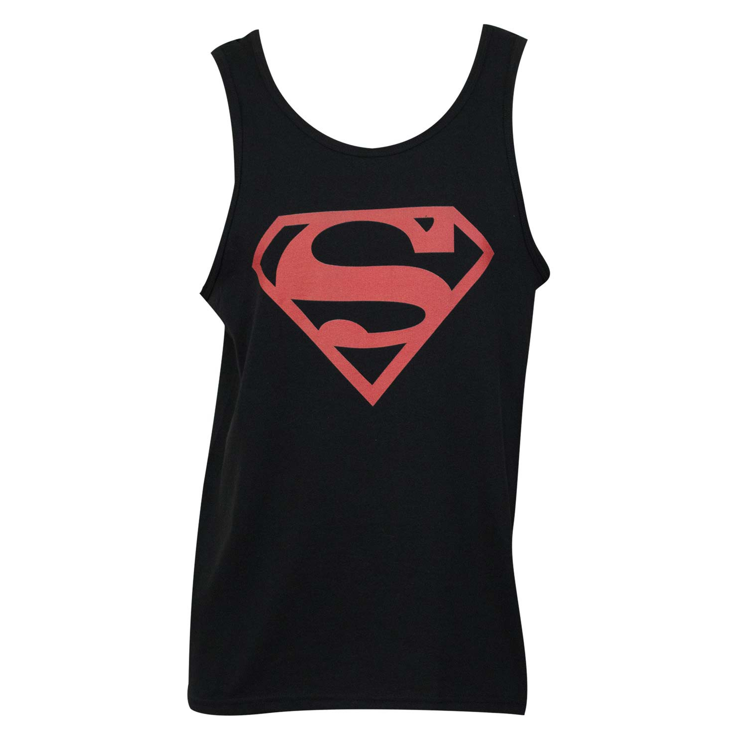 Superman Red Logo Tank Top