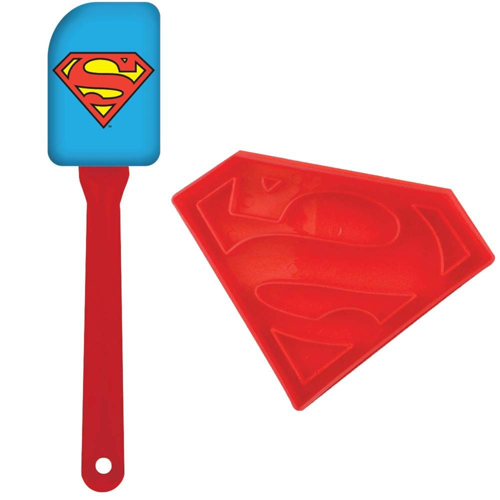 Superman Spatula and Cookie Cutter Combo