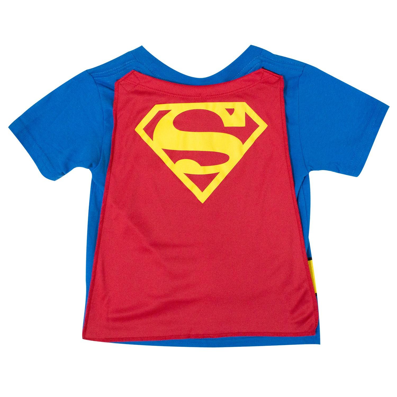 Superman Toddler's Cape Tee Shirt