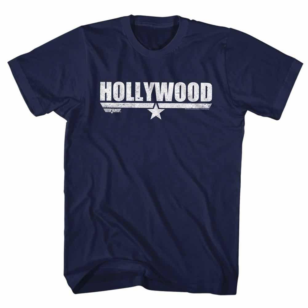 Top Gun Hollywood Blue T-Shirt