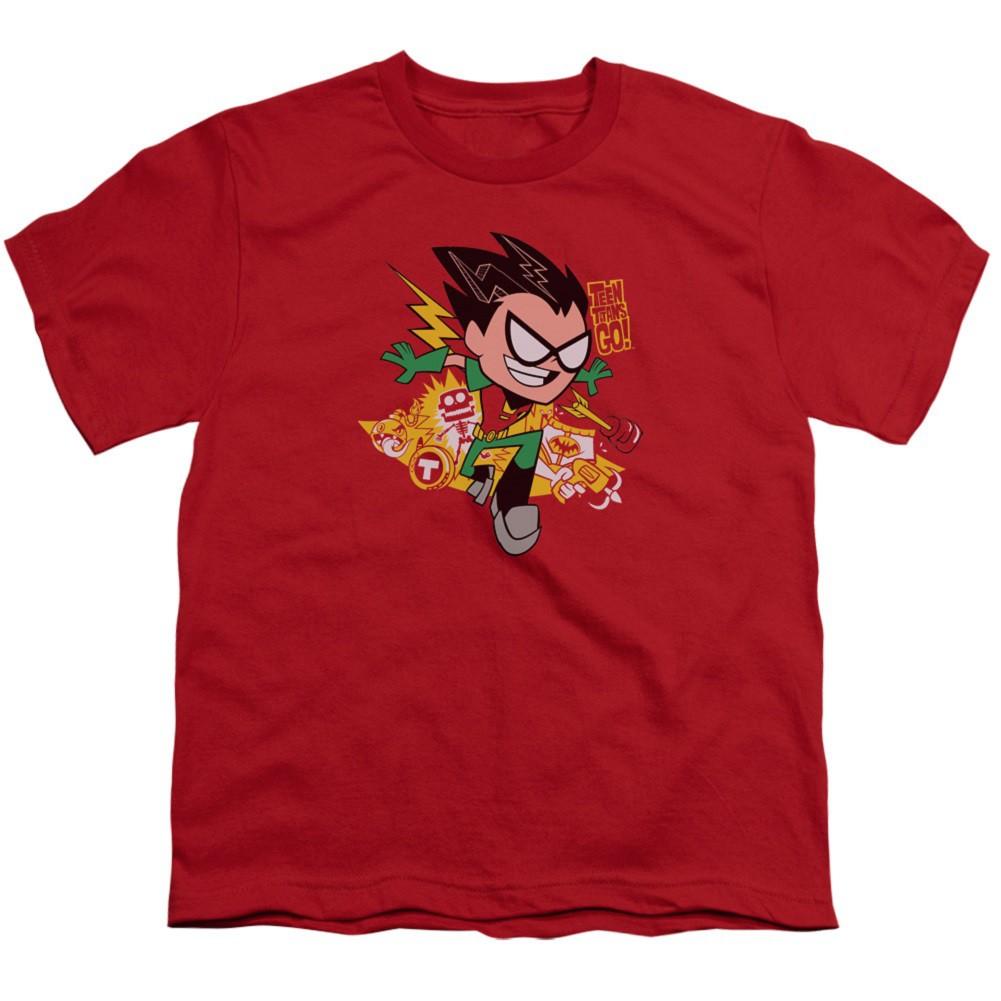 Teen Titans Go! Robin Youth Tshirt