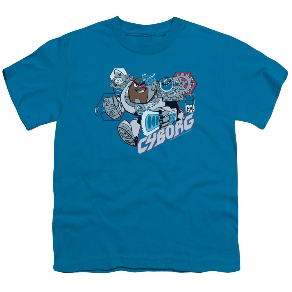 Teen Titans Go! Cyborg Youth Tshirt