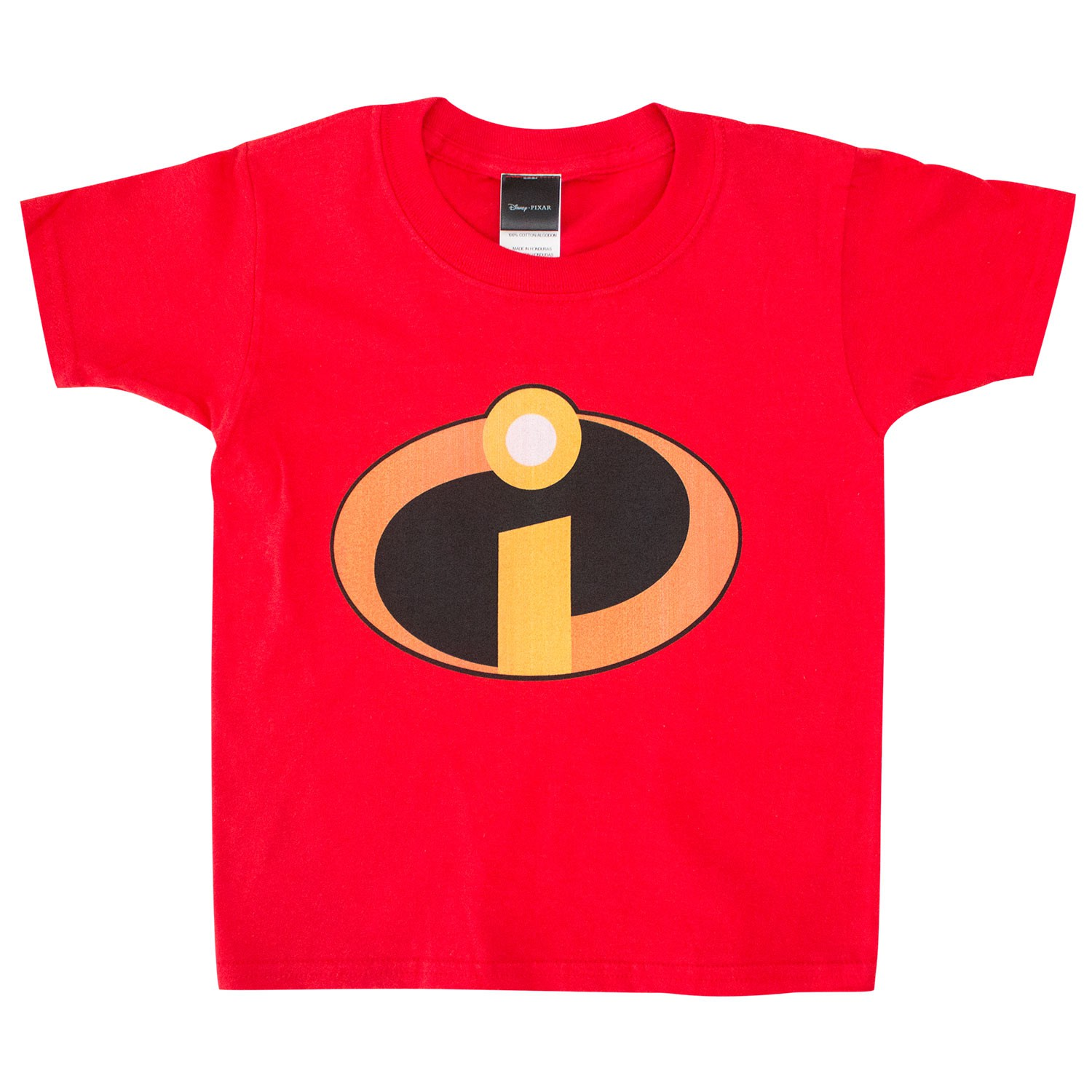 The Incredibles Toddlers Red Tee Shirt