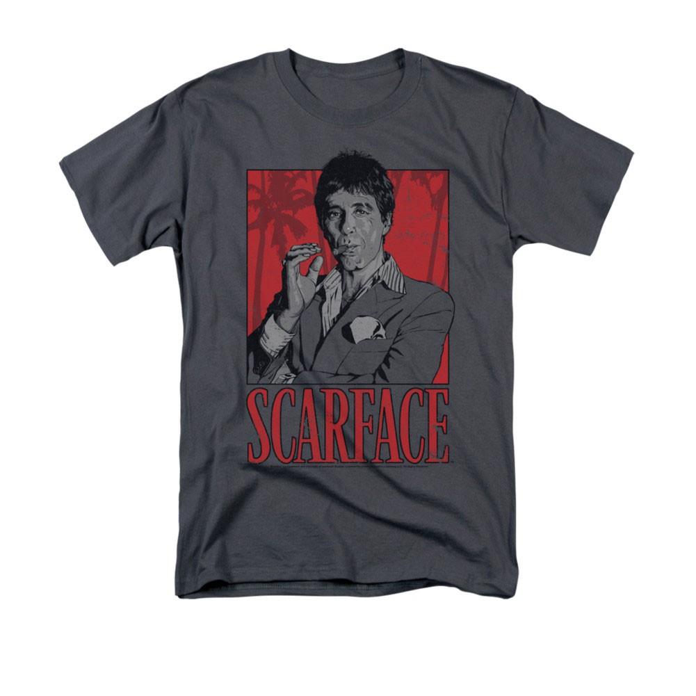 Scarface Tony Gray T-Shirt