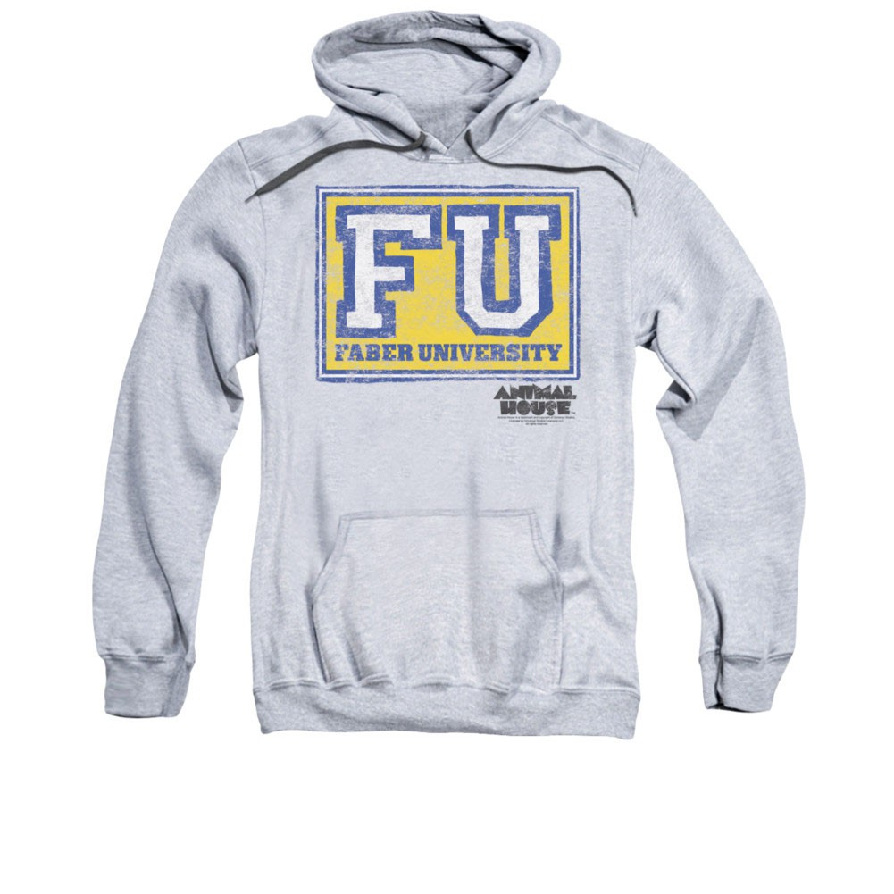 Animal House Faber University Gray Pullover Hoodie