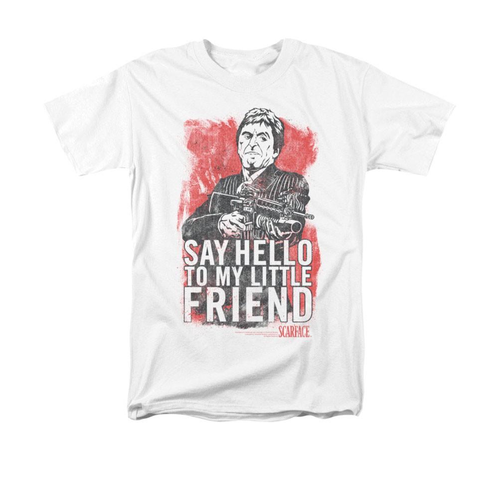 Scarface Little Friend White T-Shirt