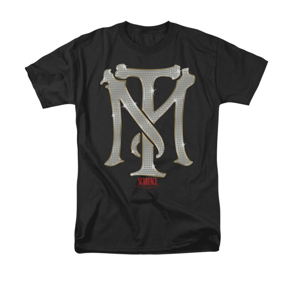 Scarface TM Bling Black T-Shirt