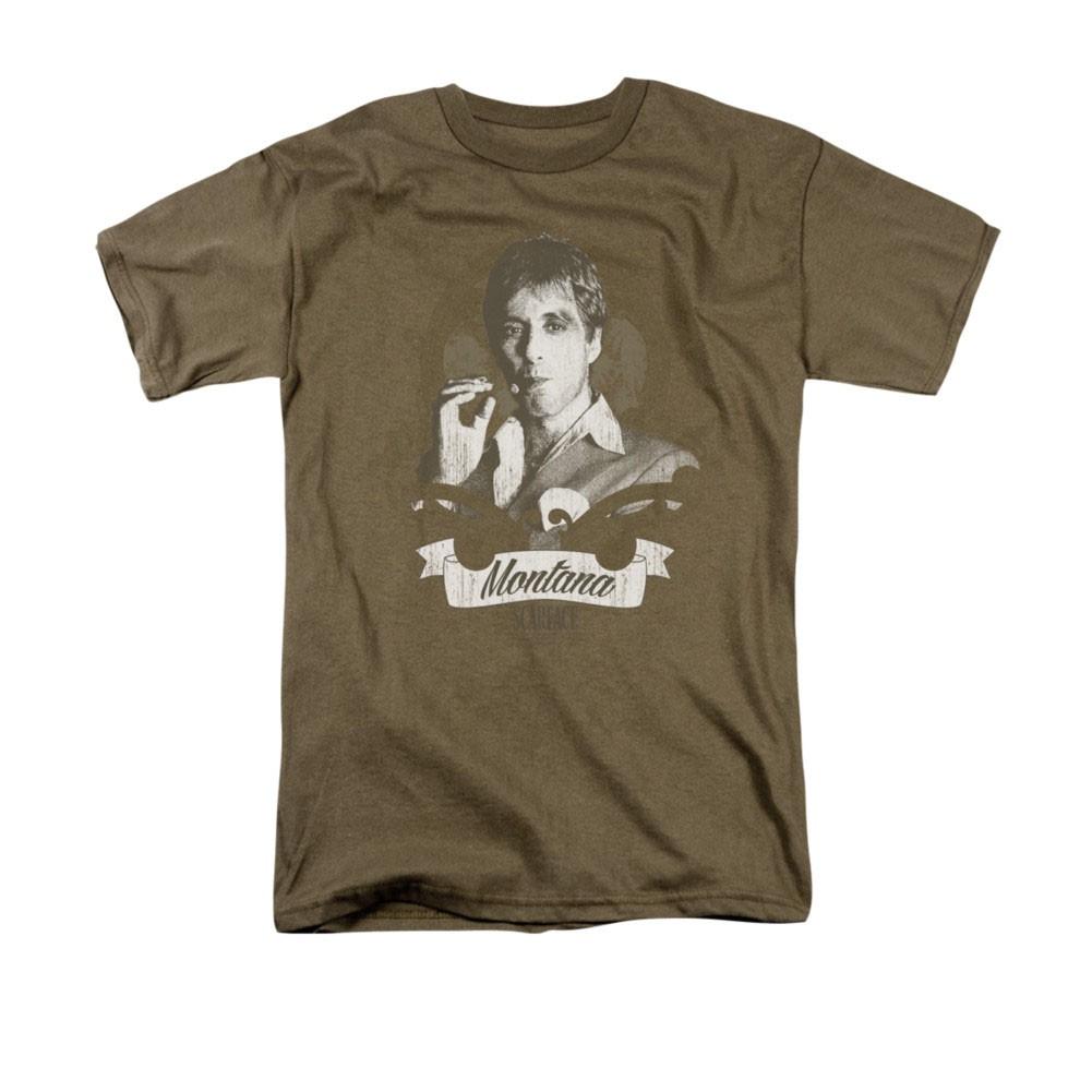 Scarface Montana Brown T-Shirt