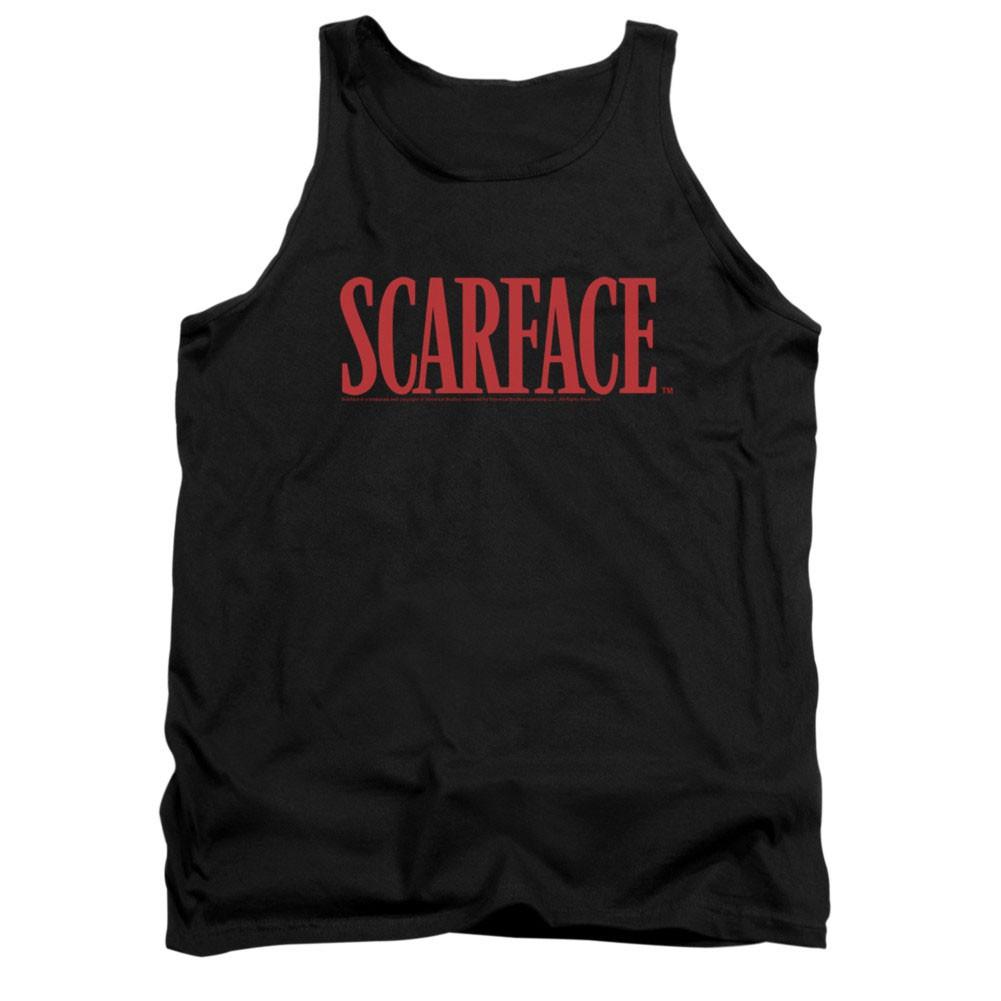 Scarface Logo Black Tank Top