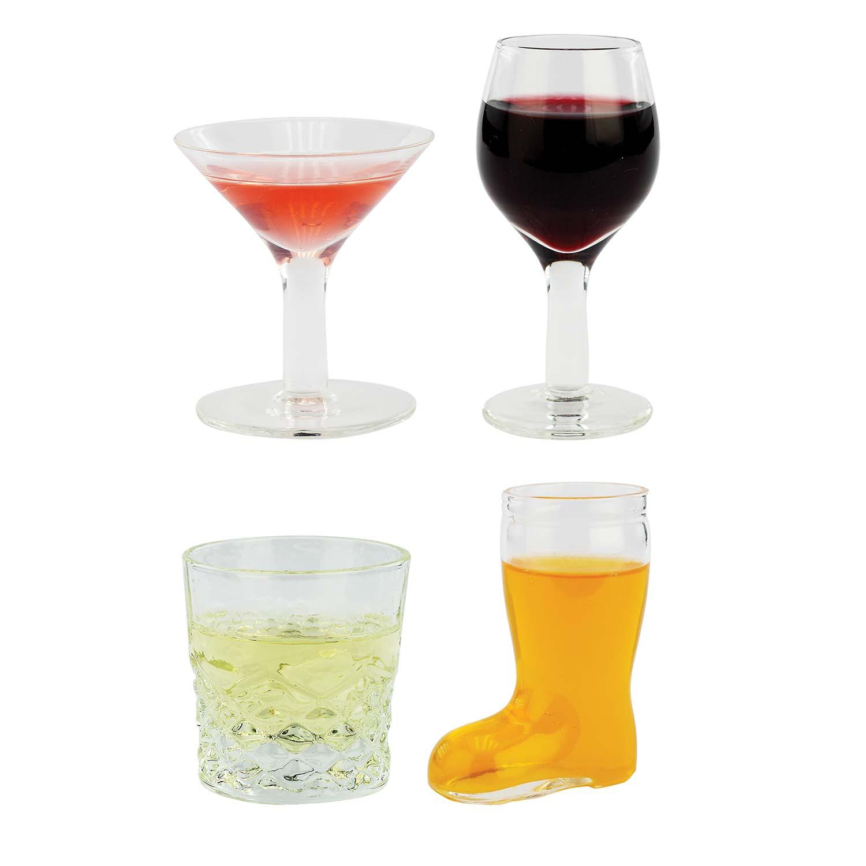 Mini Cocktail Four Pack Shot Glasses