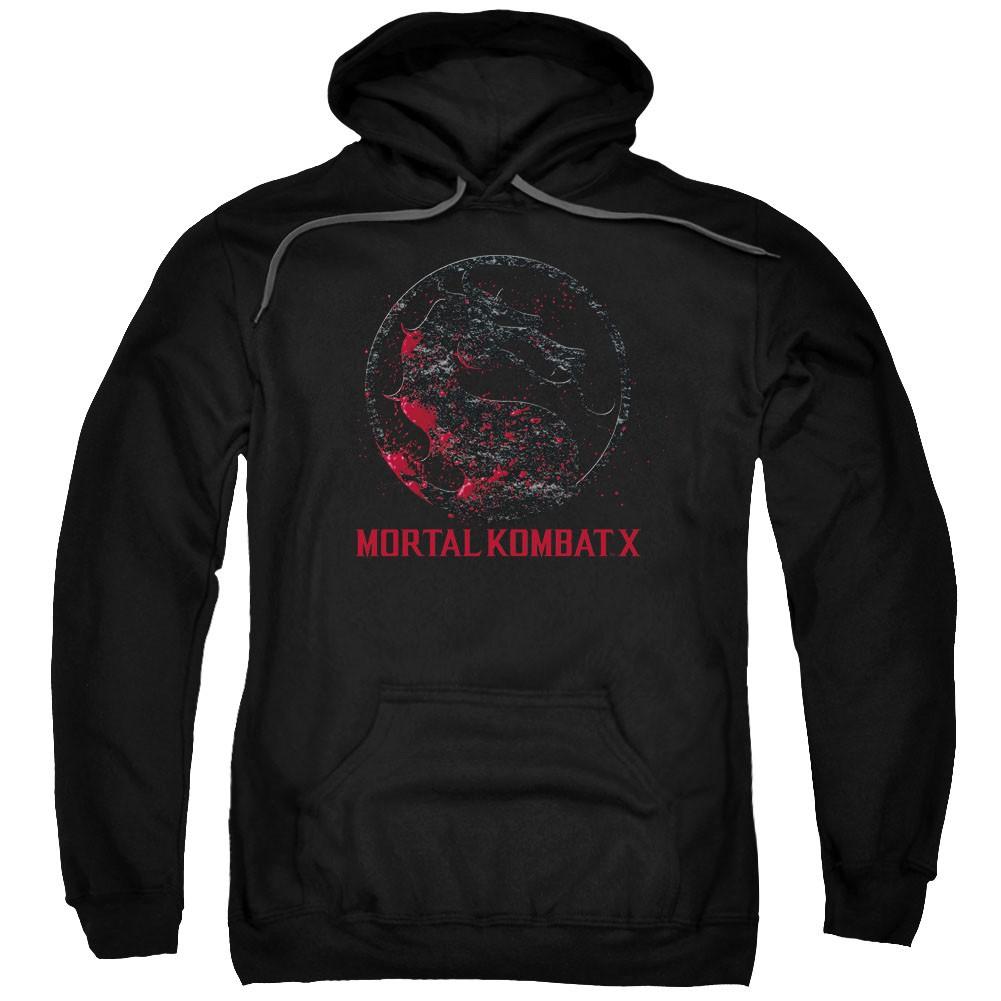 Mortal Kombat X Bloody Seal Black Pullover Hoodie