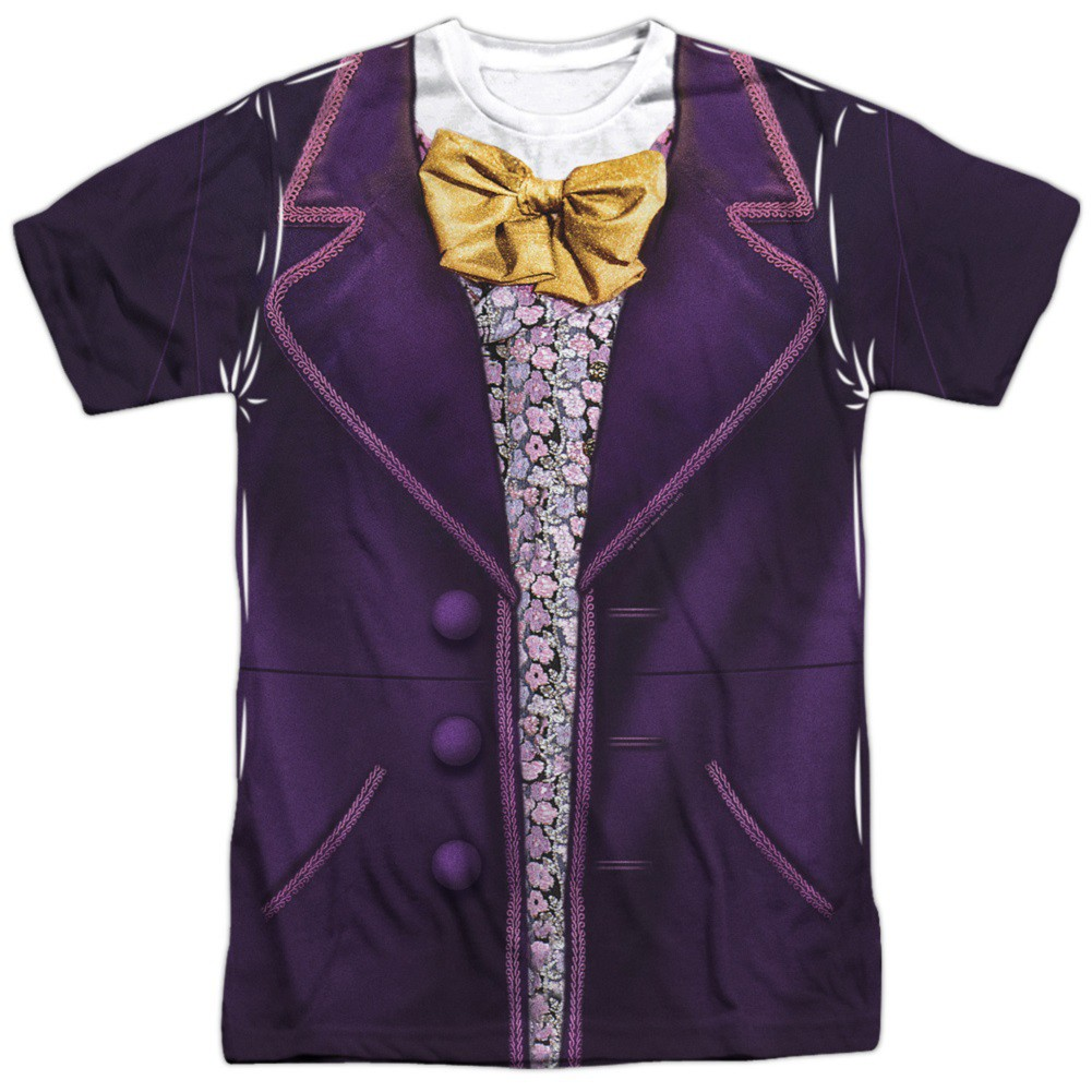 Charlie And The Chocolate Factory Willy Wonka Mens Costume