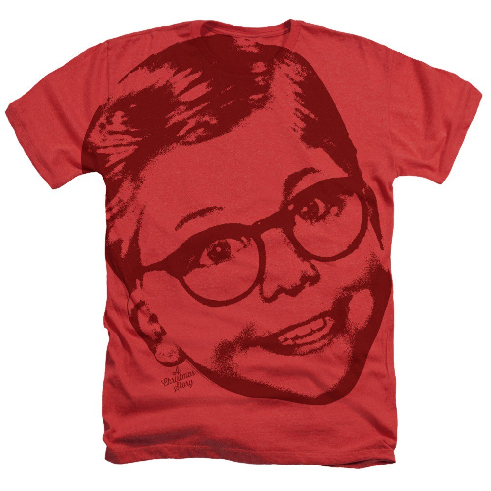 A Christmas Story Big Head Ralphie Tshirt