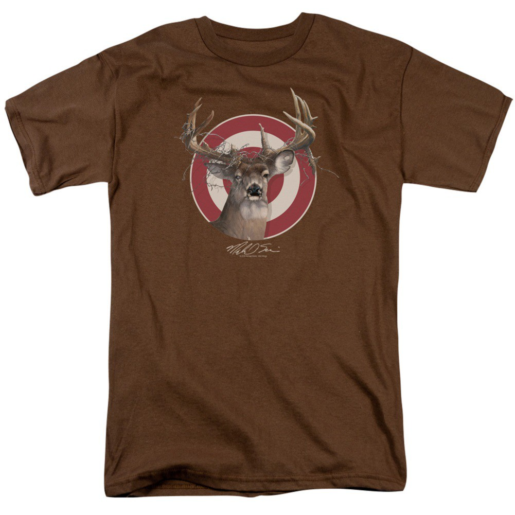 Deer Target Hunting and Fishing Tshirt