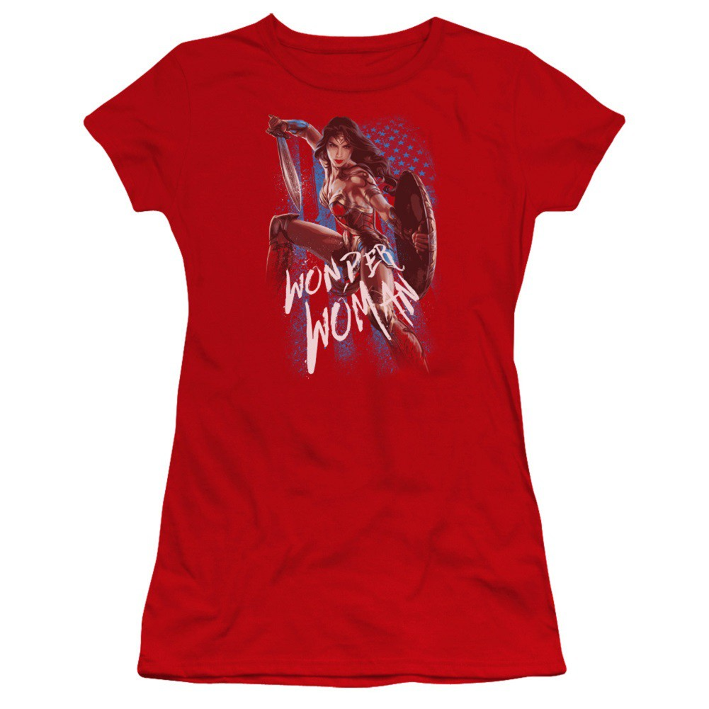 Wonder Woman American Hero Women's Tshirt