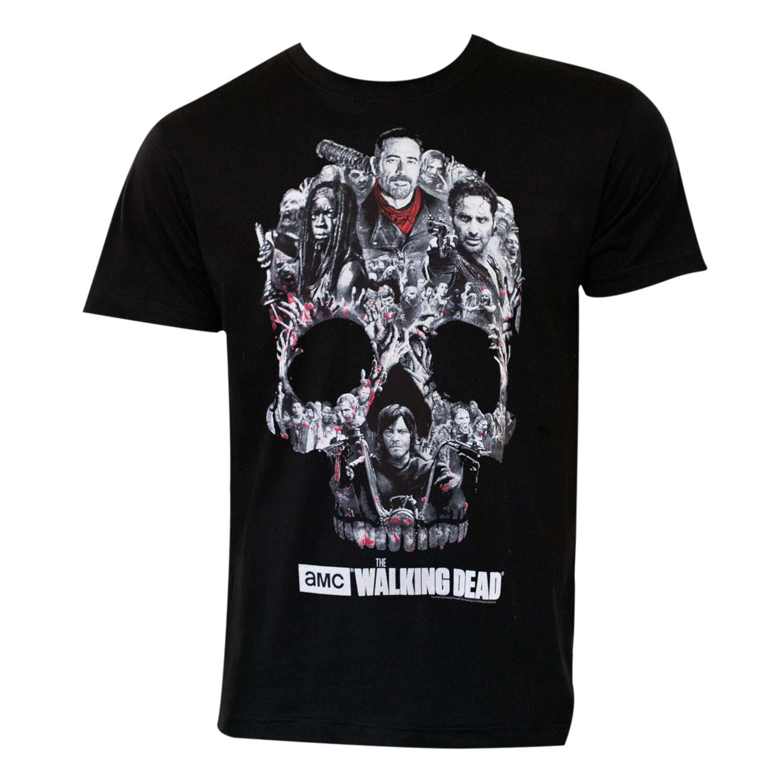 The Walking Dead Skull Logo Tee Shirt