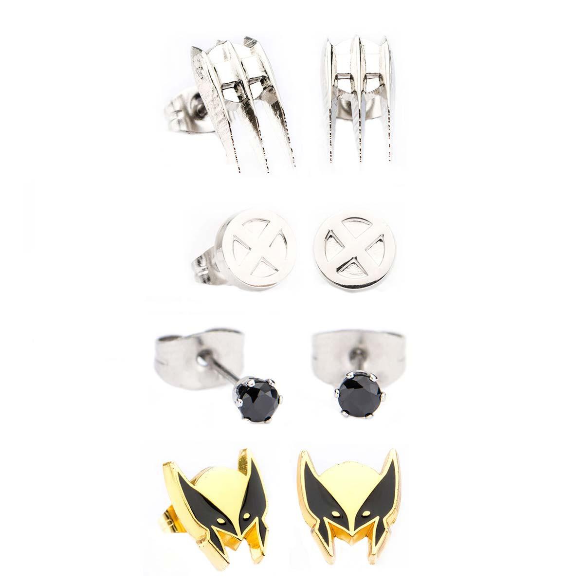 Wolverine Stud Earring Set