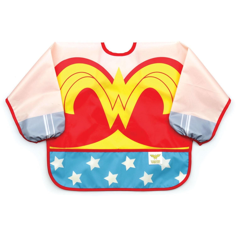 Wonder Woman Costume Sleeved Bib