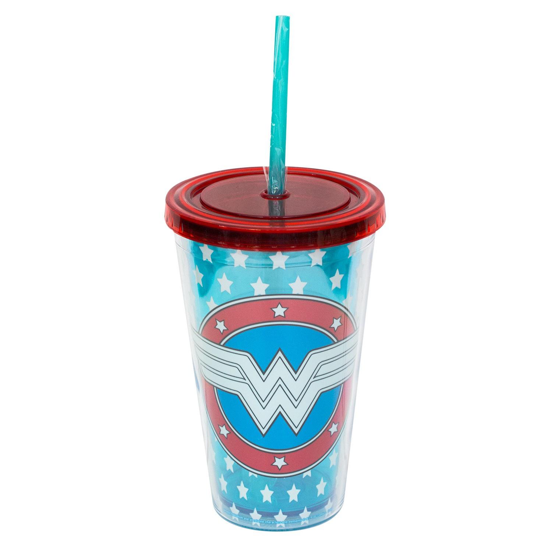 Wonder Woman Glow In The Dark Travel Cup