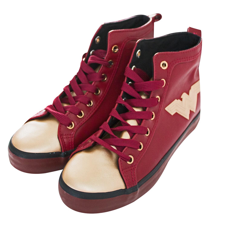 Wonder Woman PU High Top Shoes