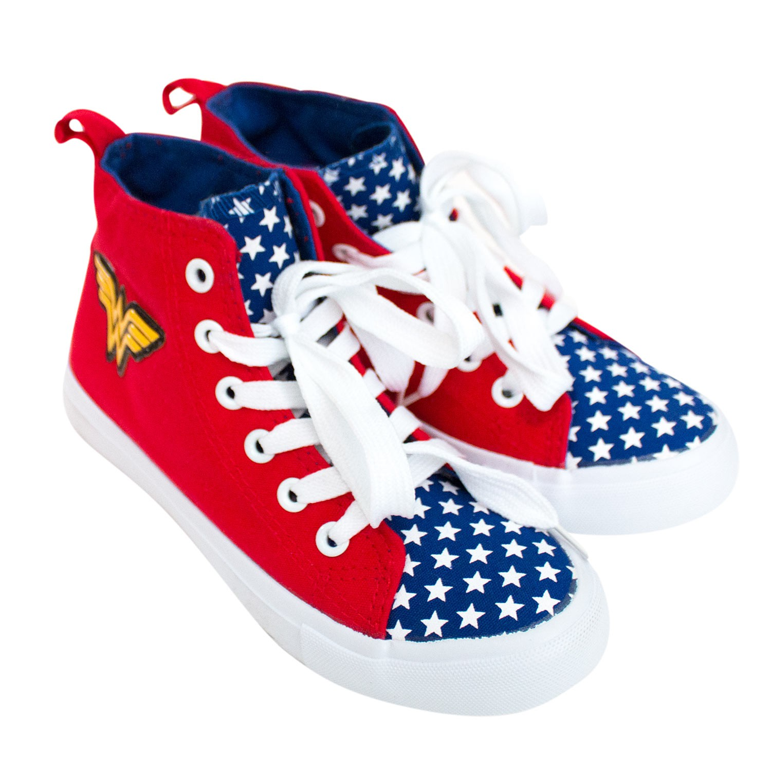 Wonder Woman Red Youth Sneakers