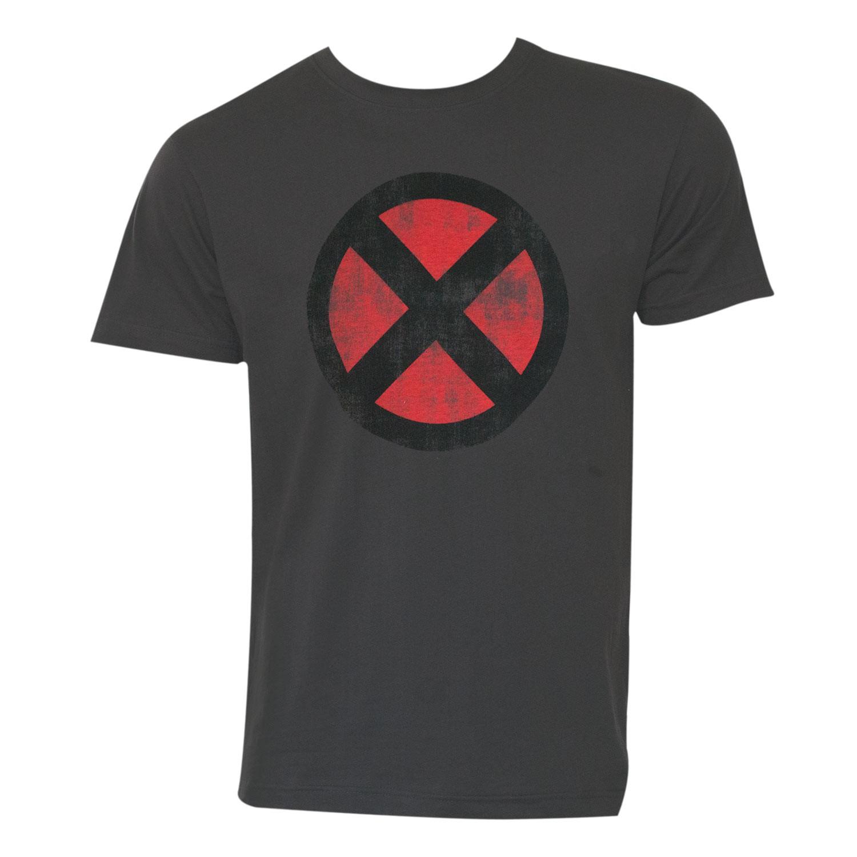 X-Men Logo Grey Tee Shirt