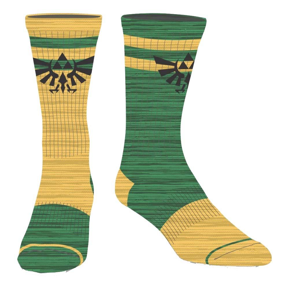 The Legend Of Zelda Flipped Colors Men's Crew Socks