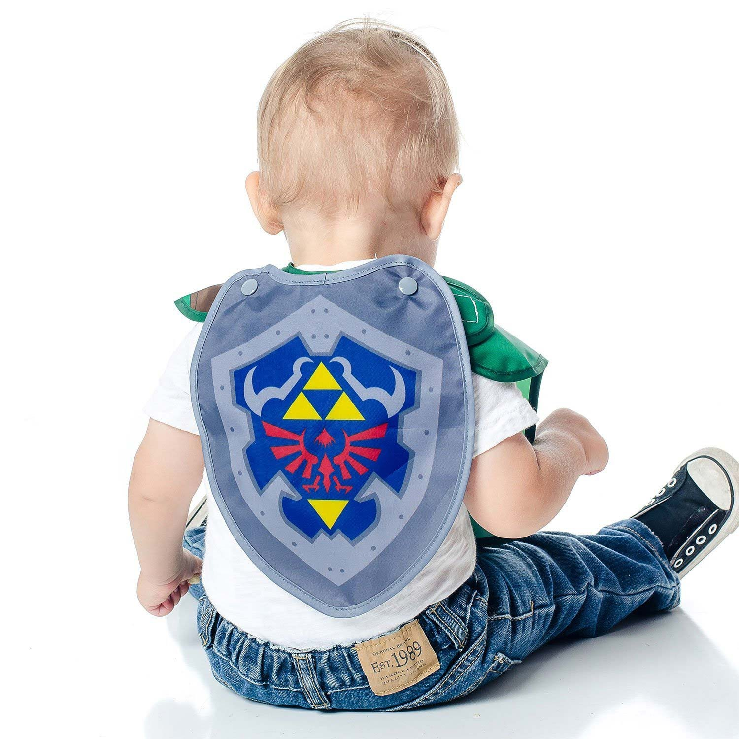 Legend Of Zelda Link Costume Sleeved Bib