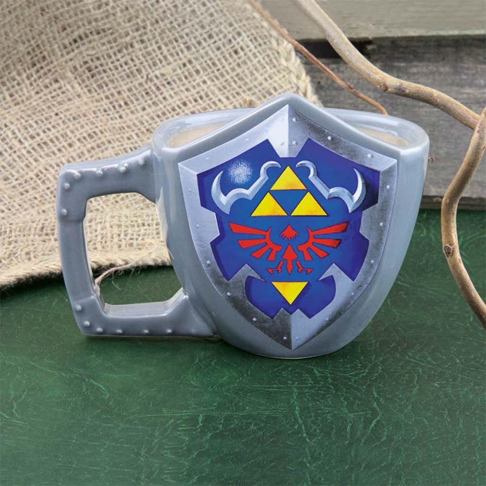 The Legend Of Zelda Triforce Shield Mug