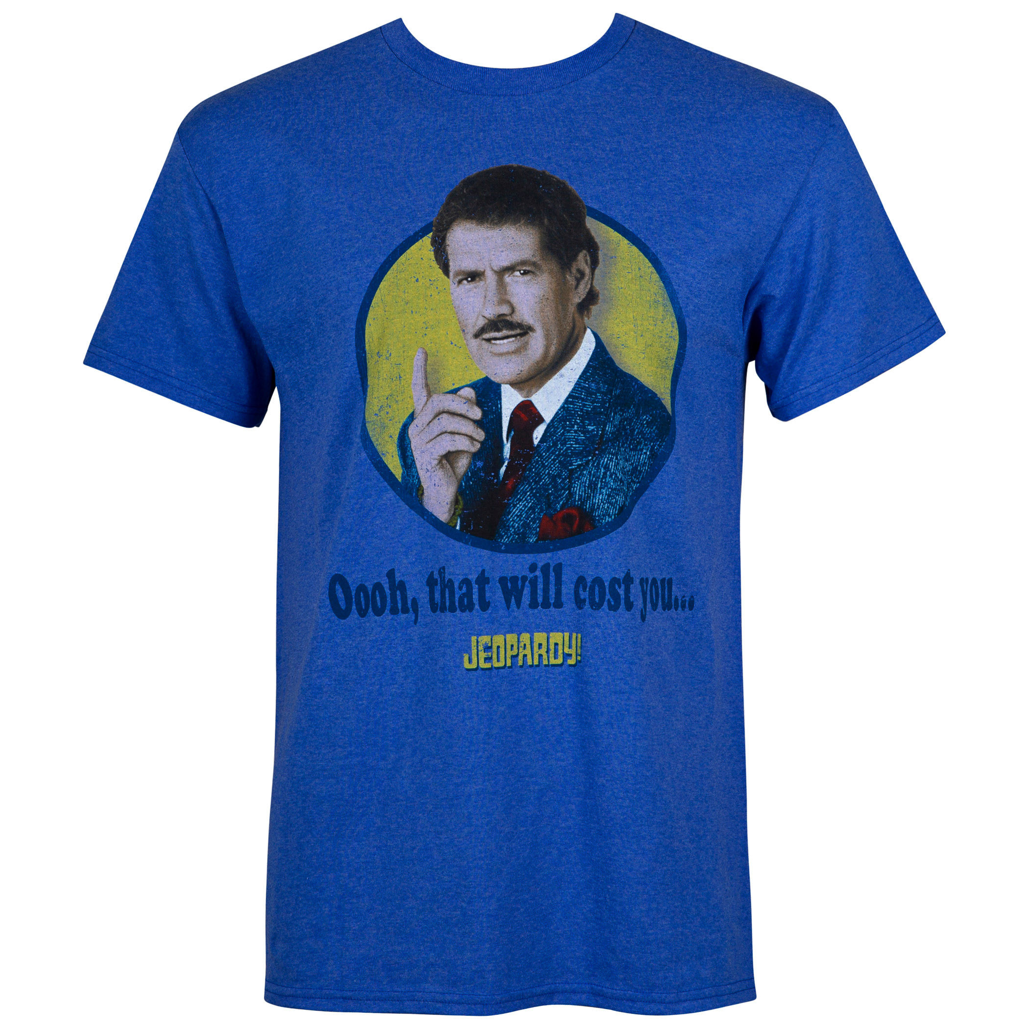 Jeopardy That Will Cost You Blue Tee Shirt