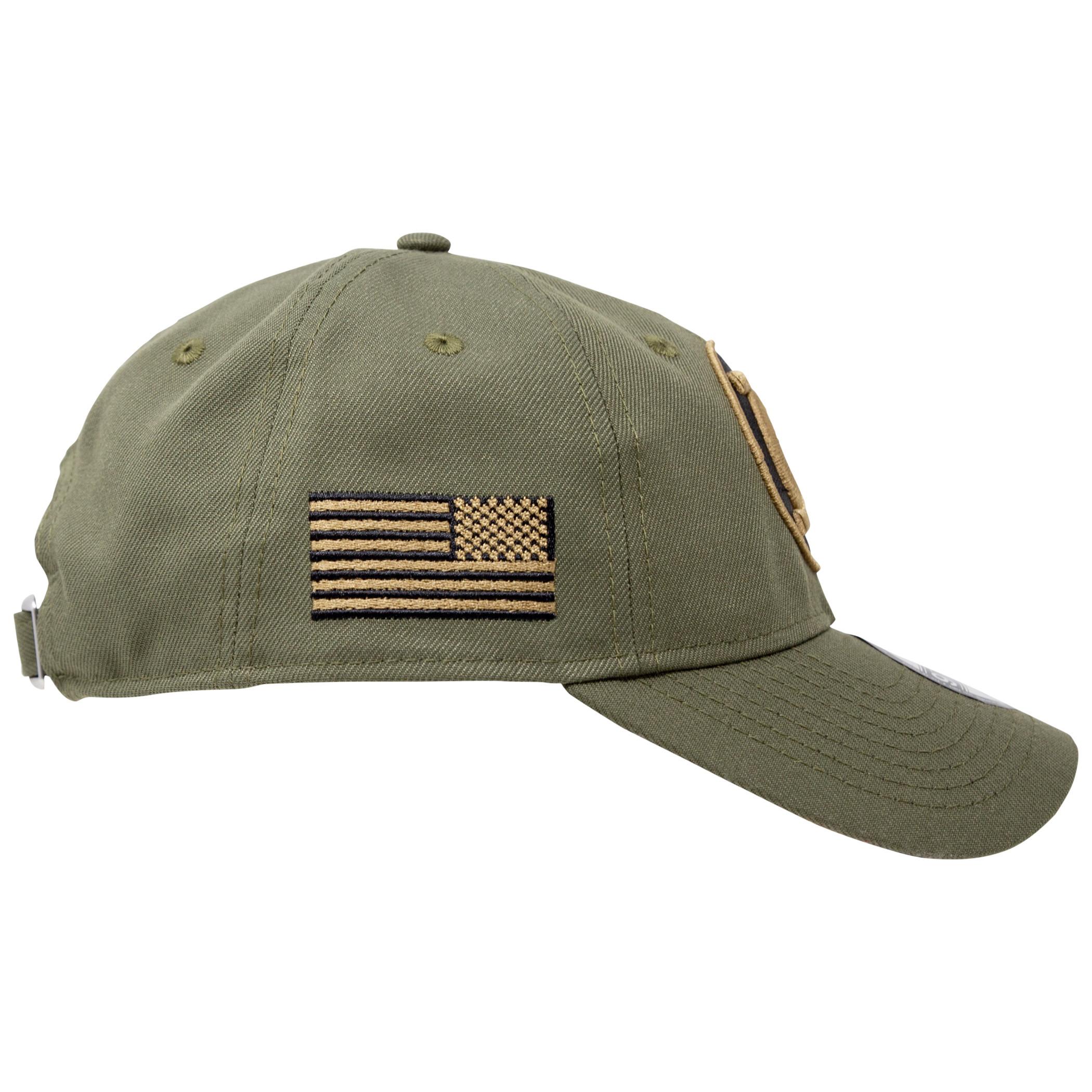 Green Lantern Salute To Service New Era 9Twenty Adjustable Hat