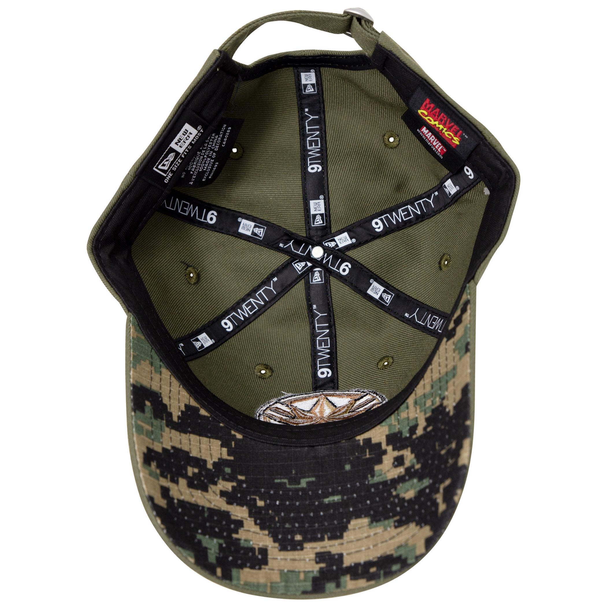 Captain Marvel Salute To Service New Era 9Twenty Adjustable Hat