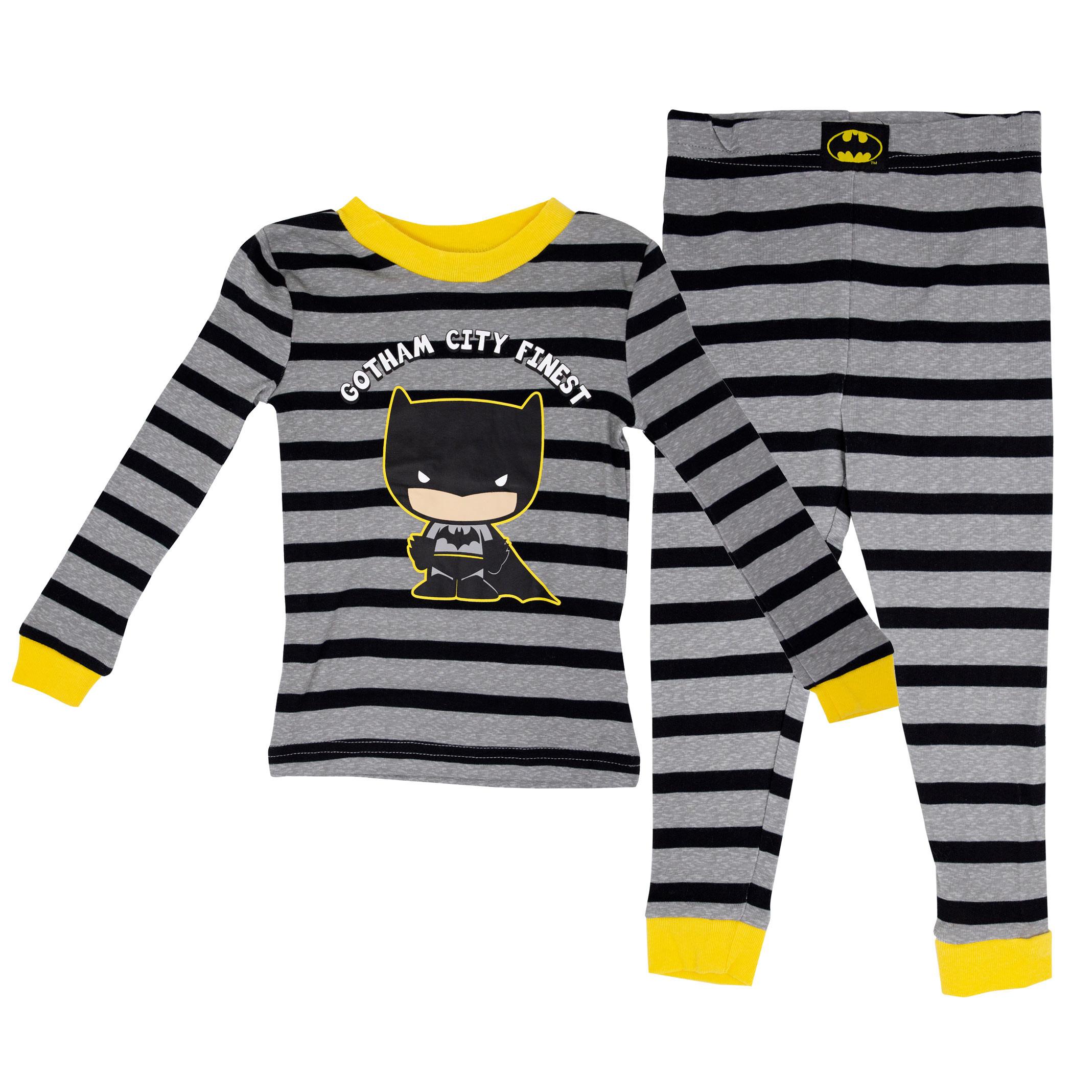Batman Kids Pajama Set 2-Pack