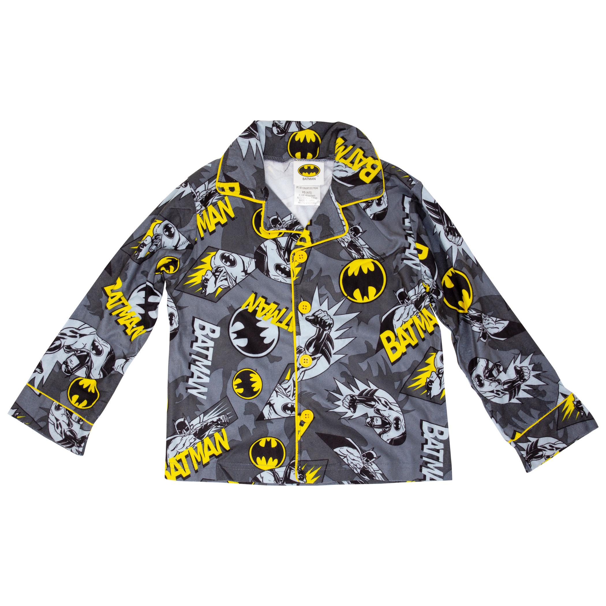 Batman All Over Print Kids Pajama Set