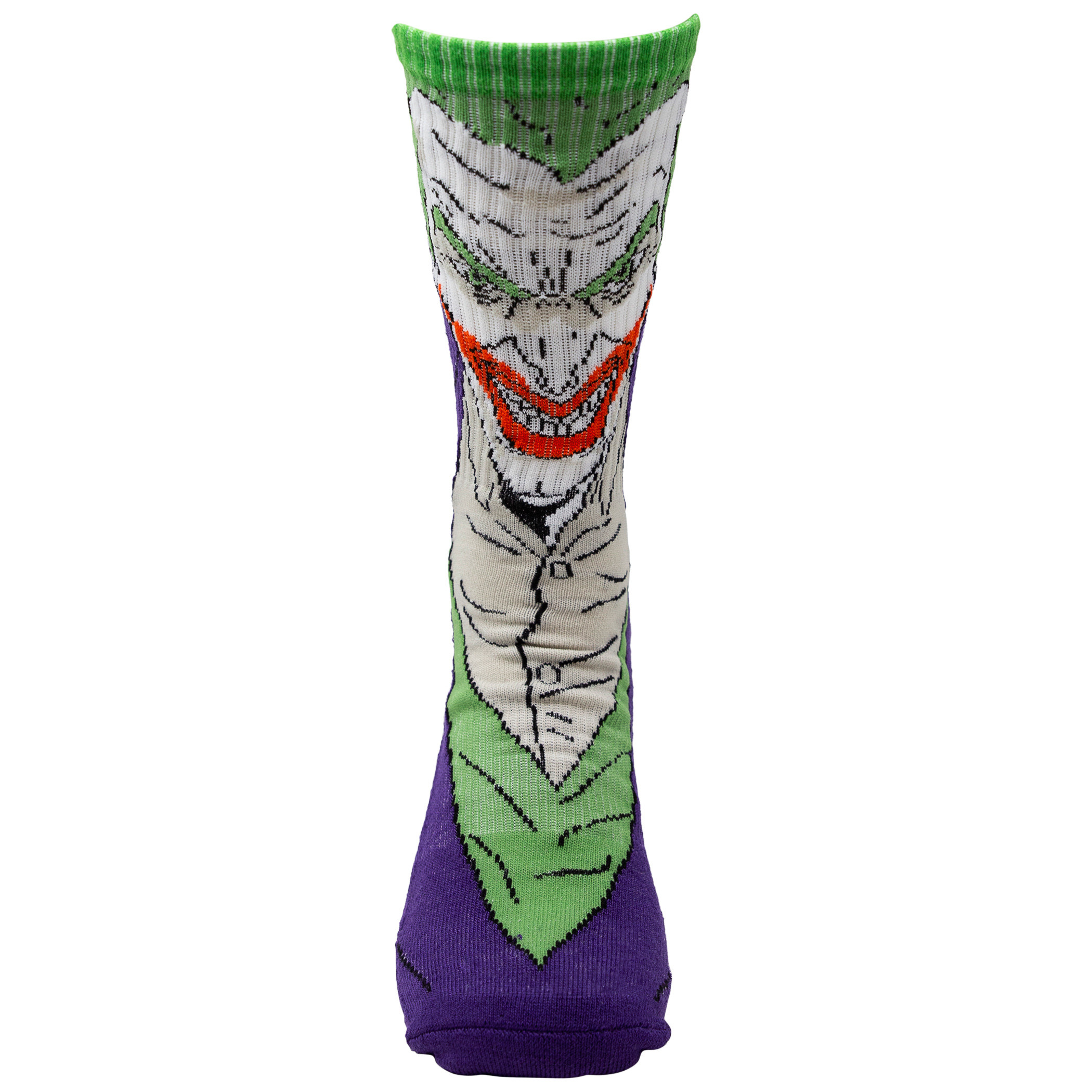 Batman and Joker Character Crew Socks 2-Pair Pack