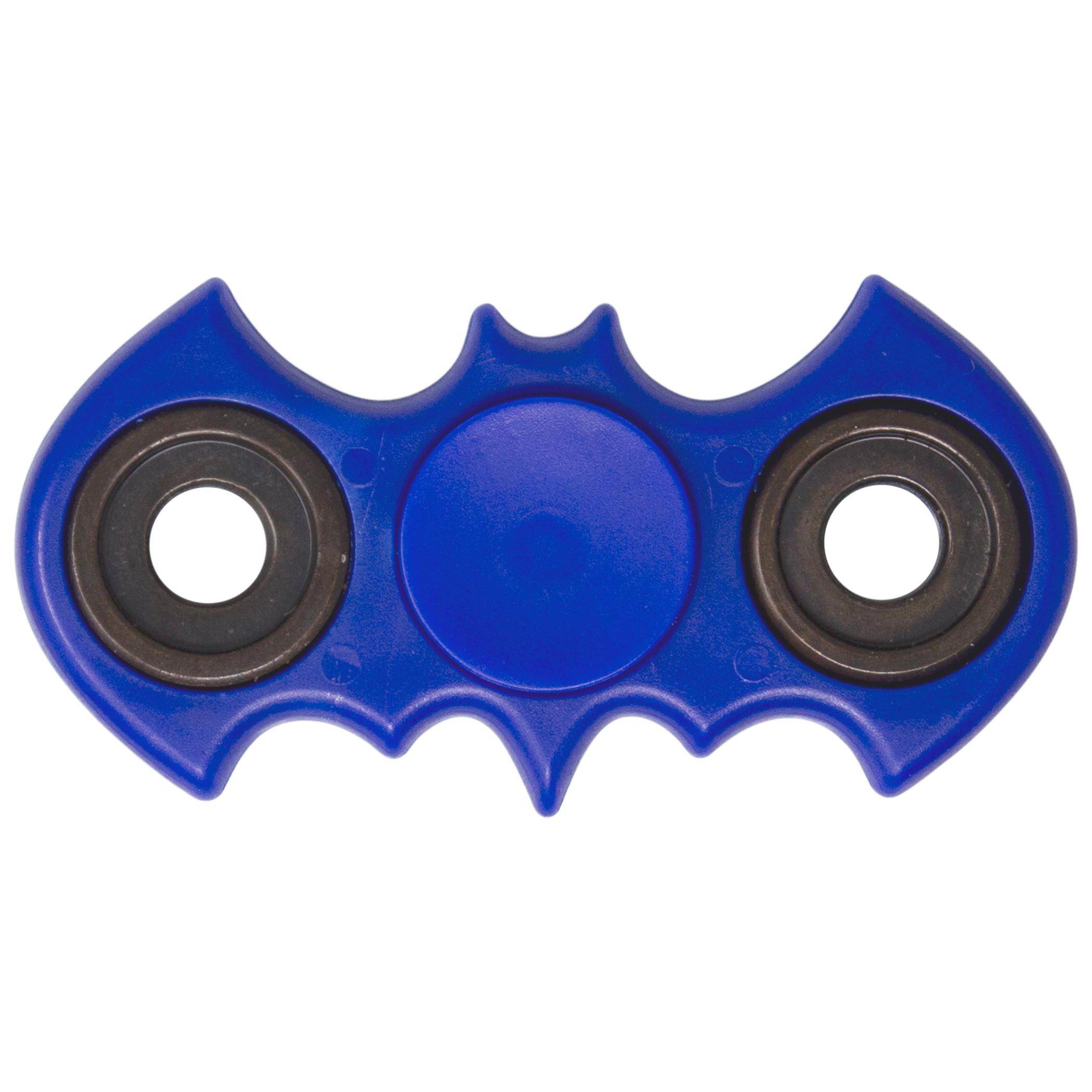 Batman Symbol Shaped Blue Fidget Spinner