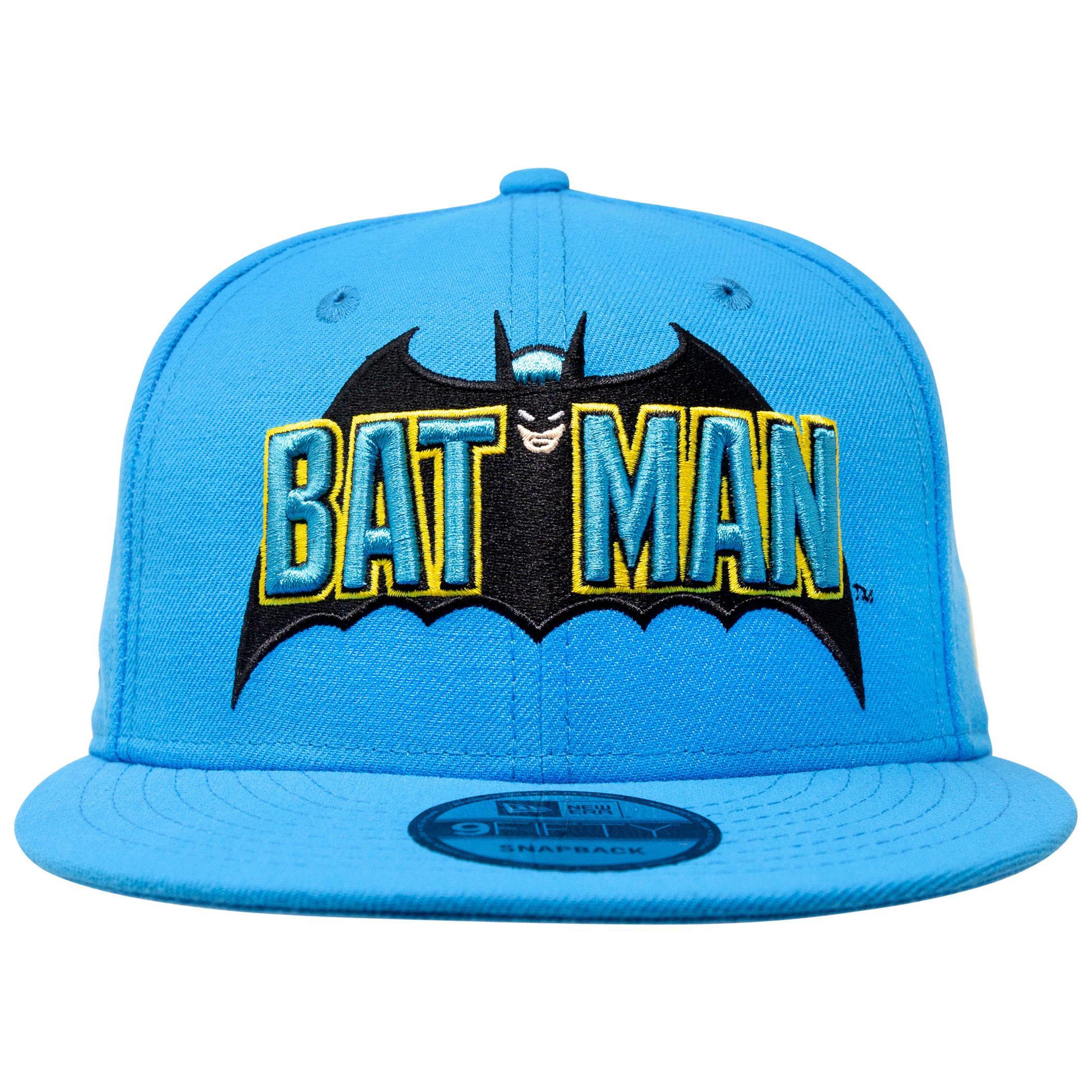 Batman 1980's New Era 9Fifty Adjustable Hat