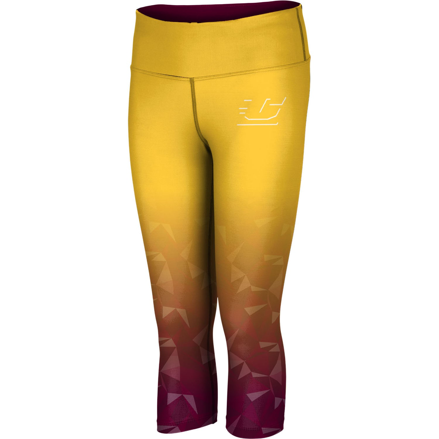ProSphere Women's Central Michigan University Maya Capri Length Tight