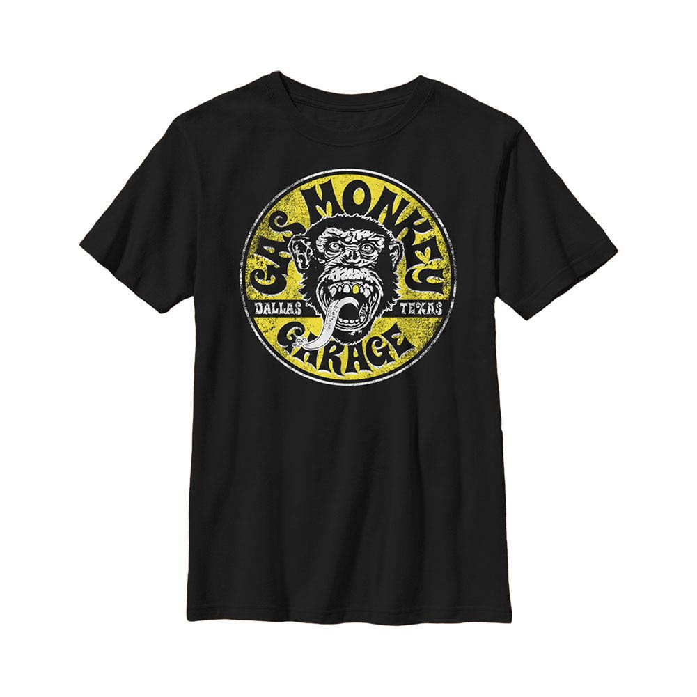Gas Monkey Garage Equipped Black Youth T-Shirt