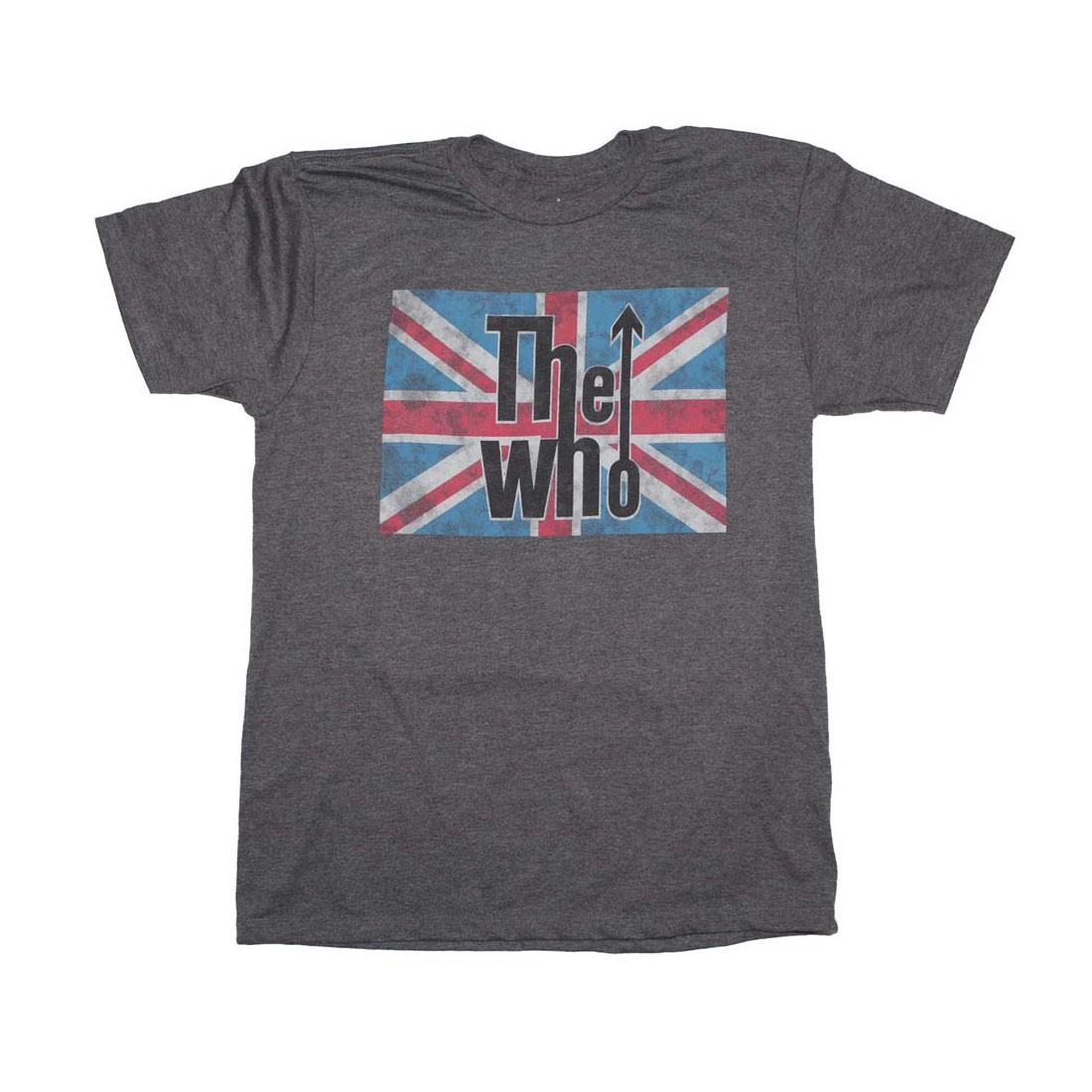 The Who Union Jack Logo T-Shirt
