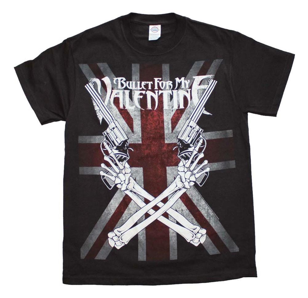 Bullet for my Valentine Crossed Guns T-Shirt
