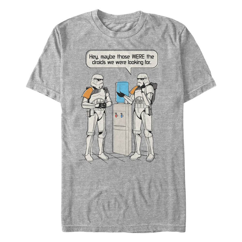 Star Wars Watercooler Gray T-Shirt