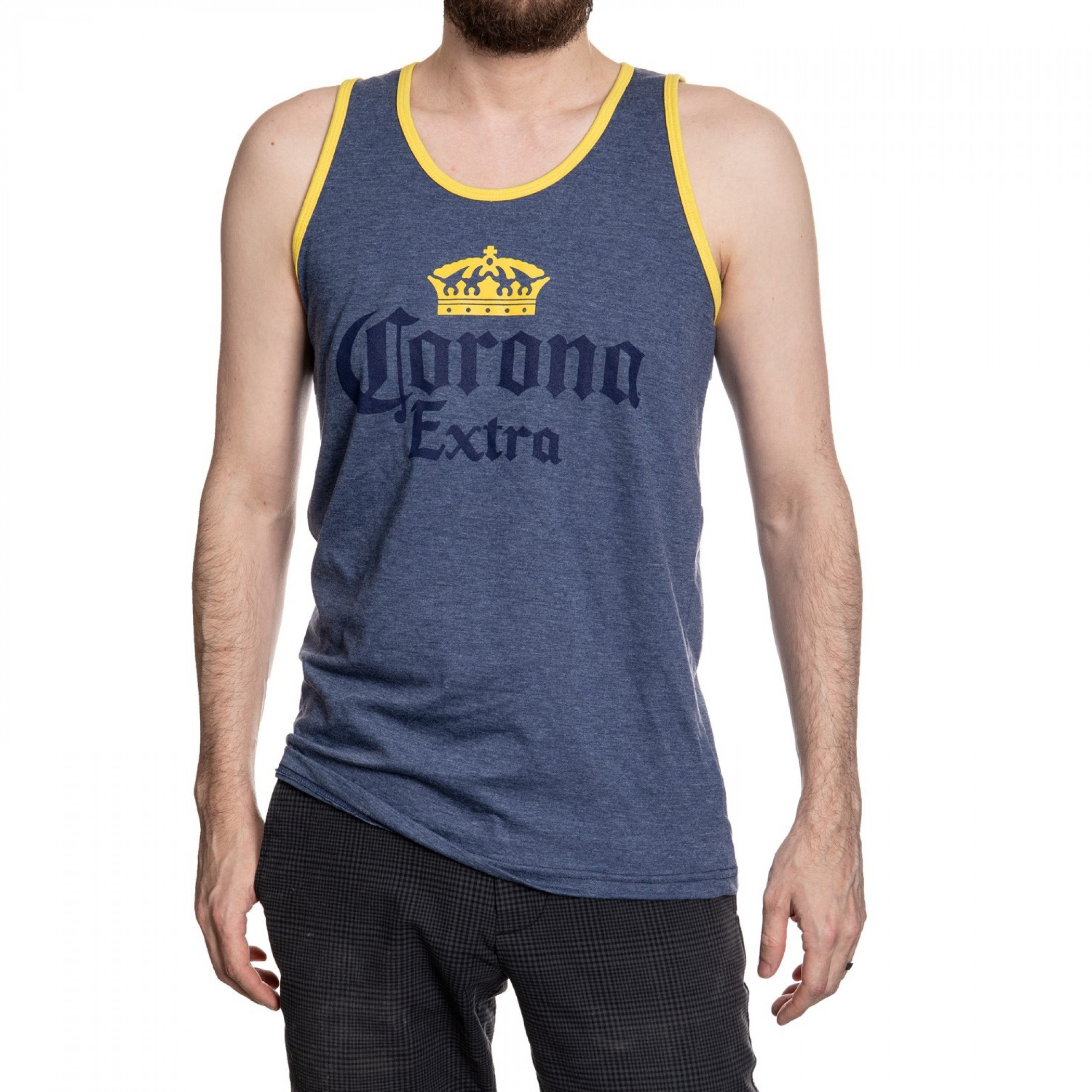 Corona Extra Faded Blue Tank Top