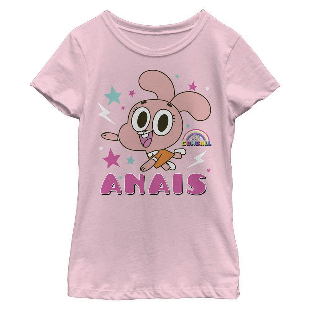 Gumball Anais Pink Youth Girls T-Shirt