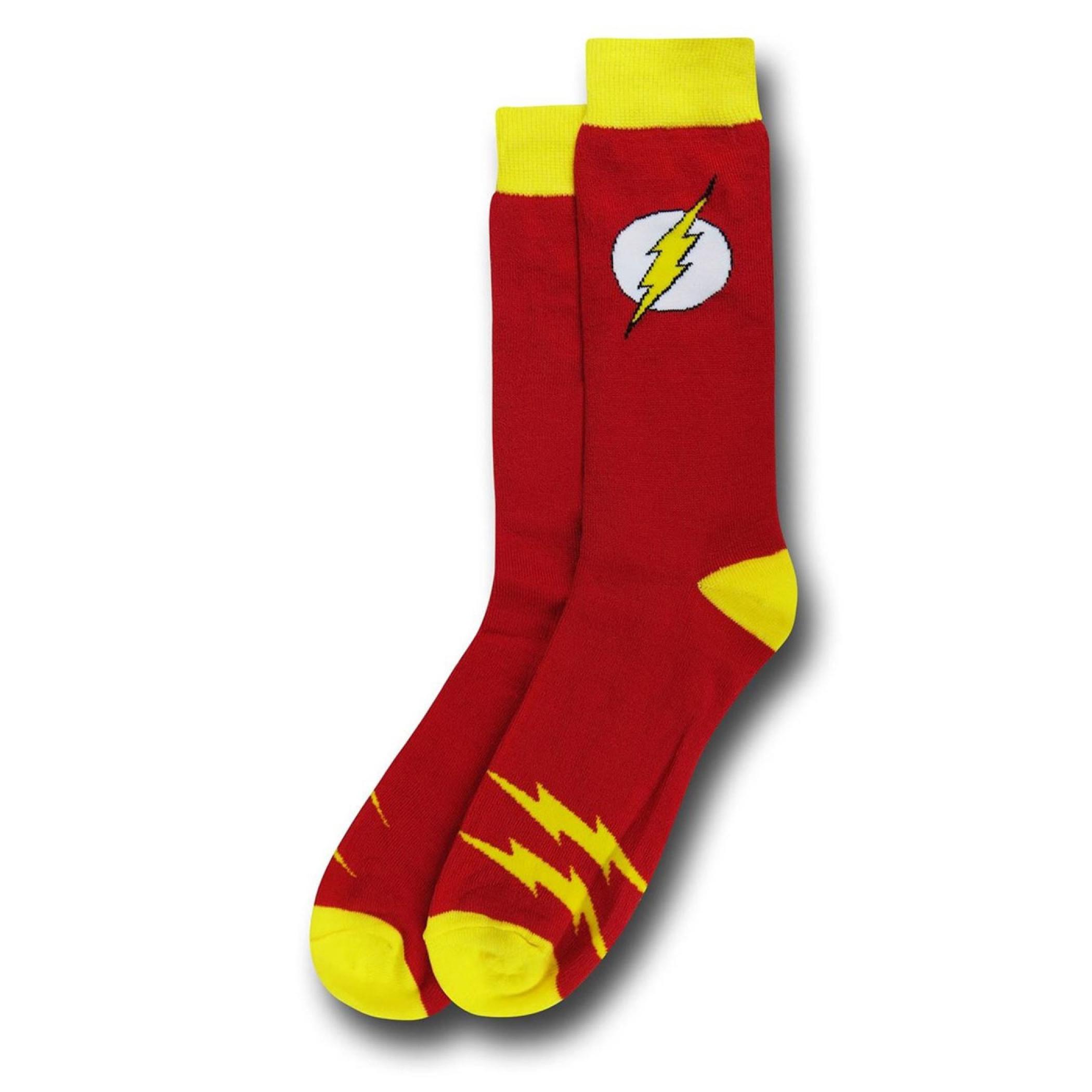 Flash Classic Symbol Crew Sock